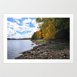 Canadian Shield Landscape Art Print
