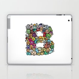 Alphabet B. The alphabet series Laptop & iPad Skin