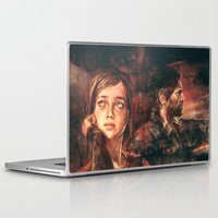 road Laptop & iPad Skins featuring The Road Less Traveled by Alice X. Zhang