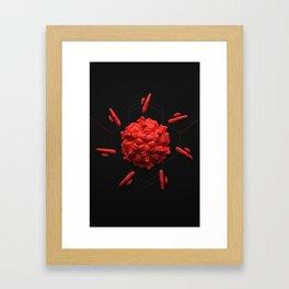 Micron 01 Framed Art Print