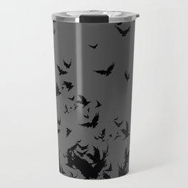 An Unkindness of Ravens (Grey) Travel Mug