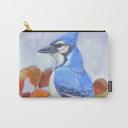 Blue Jay in Autumn Carry-All Pouch