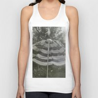 umbrella Tank Tops featuring Umbrella by Anja Hebrank