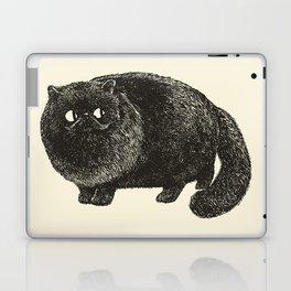Black Persian Cat Laptop & iPad Skin