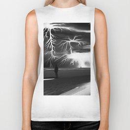 Storm (Digital Art) Biker Tank