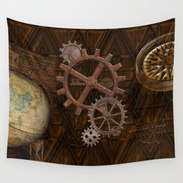 Comforts of Steampunk Wall Tapestry
