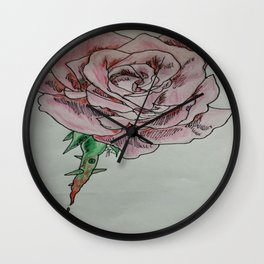 every rose has thorns 2 Wall Clock