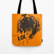Jozzuv Lol (Orange) (Light on Dark Tee) Tote Bag