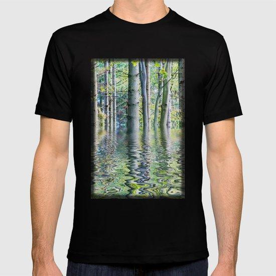 SERENE GREEN SCENE T-shirt