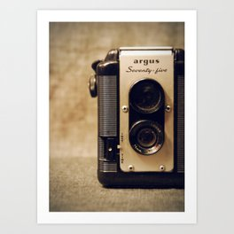 Argus Twin Lens. Art Print