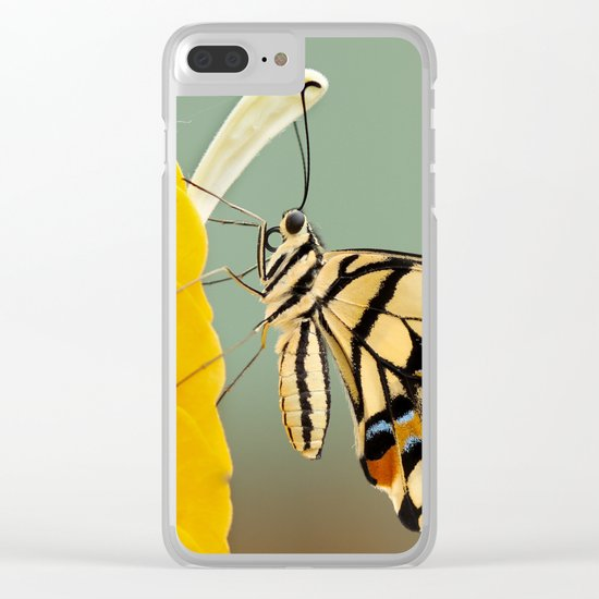 flora and fauna Clear iPhone Case