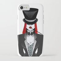 gotham iPhone & iPod Cases featuring Gotham Masquerade by Cristina Stefan