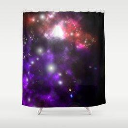 Leviathan Galaxy Shower Curtain