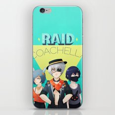 Raid Coachella iPhone Skin