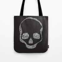 rebel Tote Bags featuring Rebel by Estaschia Cossadianos