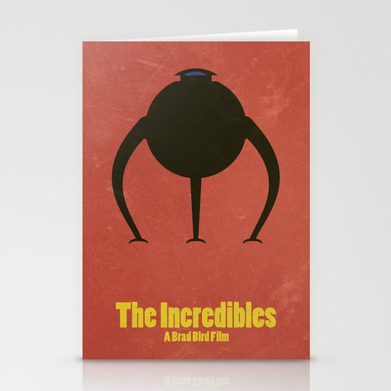 The Incredibles Stationery Cards