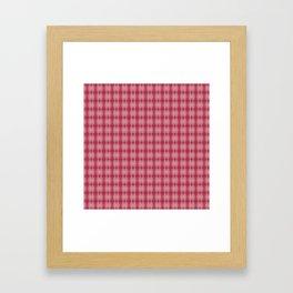 Watercolor Reds - Retro Framed Art Print