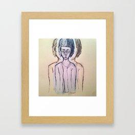 ugly art Framed Art Print