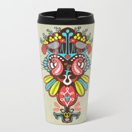 Harmony birds Metal Travel Mug
