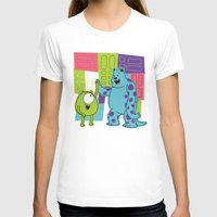 monster inc T-shirts featuring Monster Time by Moysche Designs