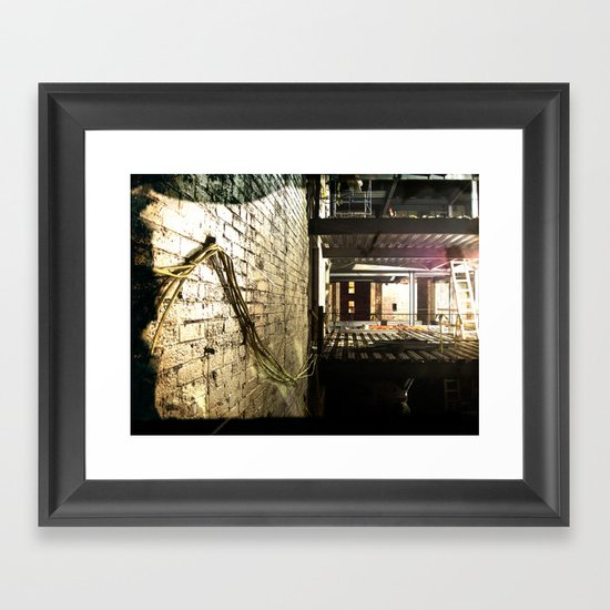 Re-Wire Framed Art Print