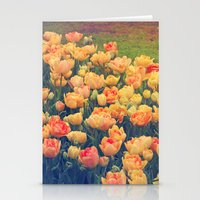 tulips Stationery Cards featuring Tulips  by Juliana RW