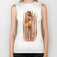 fireflies Biker Tanks featuring Fireflies by Mugges