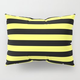 Stripes (Black & Yellow Pattern) Pillow Sham