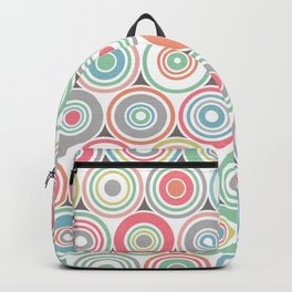 Concentric Circles Backpack