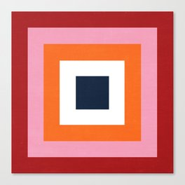 the squares  Canvas Print