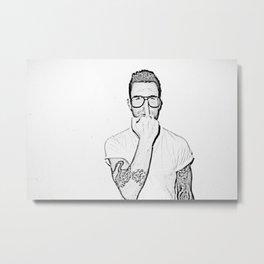 Adam Levine Metal Print