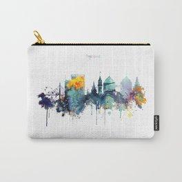 Oakland California Blue  skyline print Carry-All Pouch