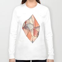 crystal Long Sleeve T-shirts featuring Crystal  by Matt Smith