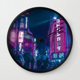 TOKYO BLOOM - Cyberlife Wall Clock