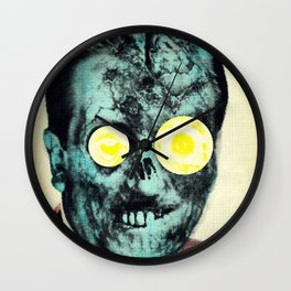 You Can't Just Let Nature Run Wild Wall Clock