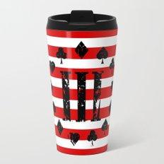 Three Percenter Aces USA Flag Travel Mug