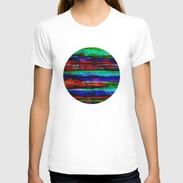 colorful bohemian pattern T-shirt