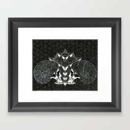 We Are Cosmos Framed Art Print