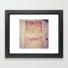 Ignite Framed Art Print