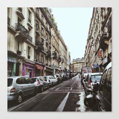 Paris Streets Canvas Print