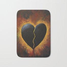 Broken Heart Bath Mat