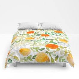 Orange You Happy Comforters
