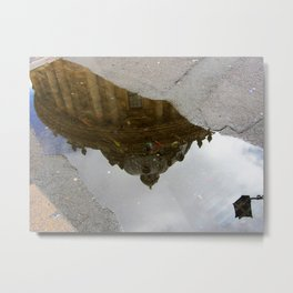 Oxford Reflections Metal Print