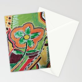 """ the flower "" Stationery Cards"