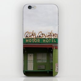 City Centre Motor Hotel iPhone Skin