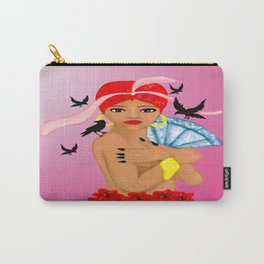 African queen illustration  Carry-All Pouch