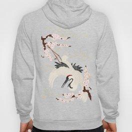 Japanese Crane Hoody