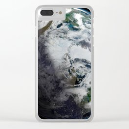 Mosaic of the Arctic Clear iPhone Case
