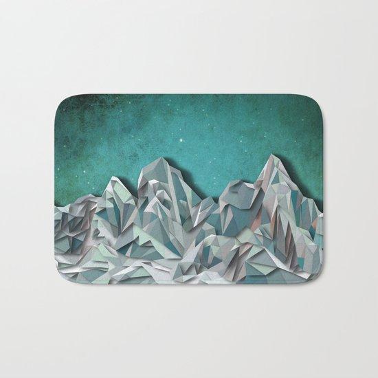 Night Mountains No. 31 Bath Mat