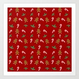 Christmas Sweets Art Print